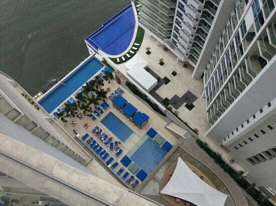 Trump Ocean Club International Hotel & Tower Panama:                   vista desde el piso 29