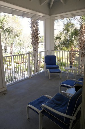Sandestin Golf and Beach Resort: Balcony of an Observation Point North condo