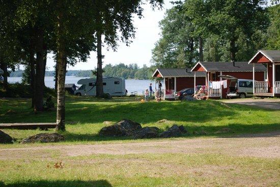 Bolmso Island Camping: Cottages - Hütten - Stugor