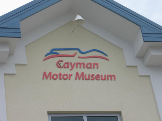 Cayman Motor Museum:                   outside of building