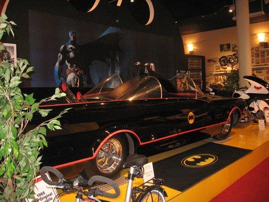 Cayman Motor Museum:                   original batmobile