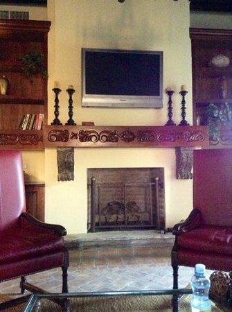 Belmond Casa de Sierra Nevada :                   fireplace from suite 445