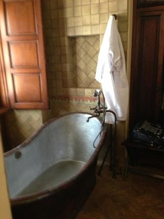 Belmond Casa de Sierra Nevada:                   great tub suite 445