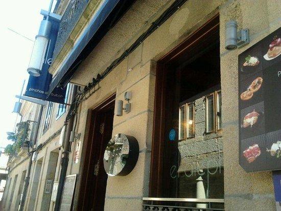 El Aleph : Fachada del bar