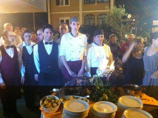 Hotel Merkury: Parte dello staff