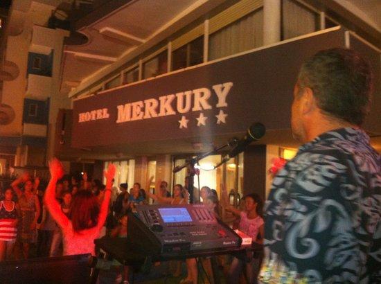 Hotel Merkury: Animazione