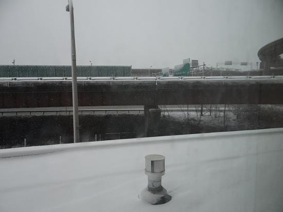 Holiday Inn Express Albany-Downtown: View from our suite
