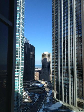 Embassy Suites by Hilton Chicago Downtown Magnificent Mile:                   View from our room!