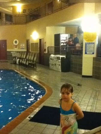 The Plaza Hotel and Suites Eau Claire:                                     loving the pool