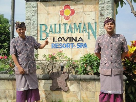 ‪‪Bali Taman Resort & Spa‬:                   Great Staff