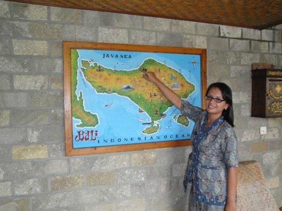 Bali Taman Beach Resort & Spa:                   Desy
