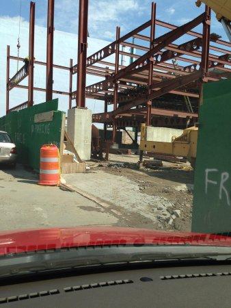 Ponce Plaza Hotel and Casino : Construction ramada