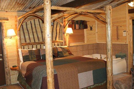 Story Book Cabins: Custom Upscale Furnishings