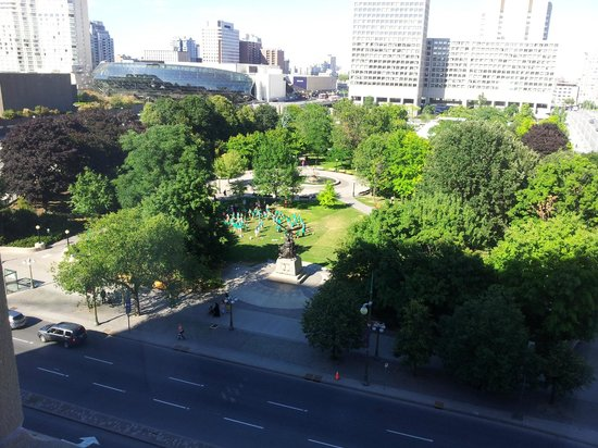 Lord Elgin:                   View from Room