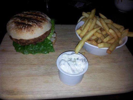 Ruby Blue:                   Lobster burger
