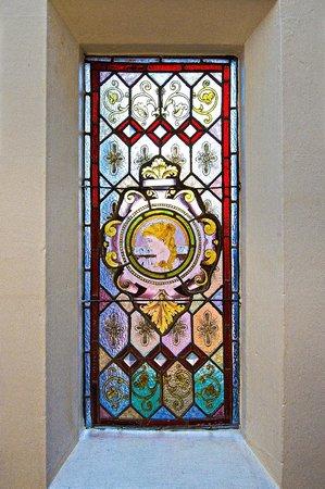 Victorian Glass Window Antiques