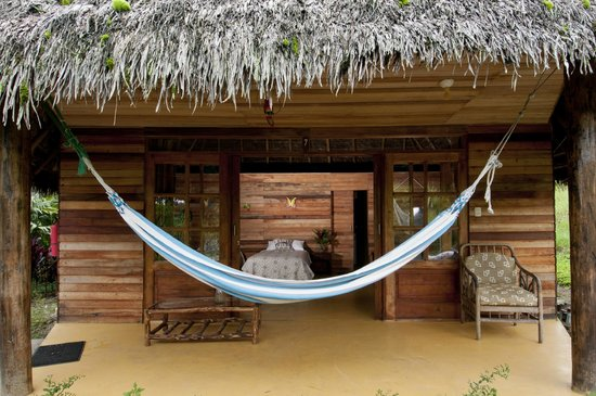 Huasquila Amazon Lodge: Family Bungalow from outside