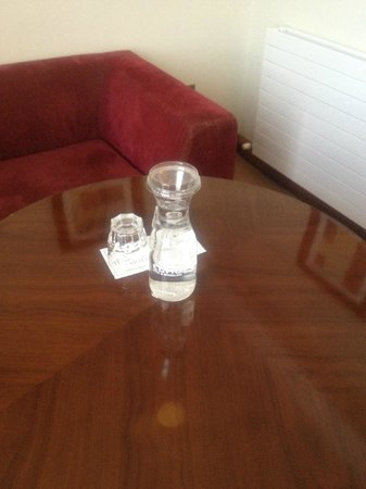 Trim Castle Hotel: Complimentary water