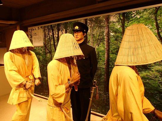 Abashiri Prison Museum :                   連行風景