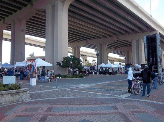 Riverside Arts Market:                                     Looking back on the market.