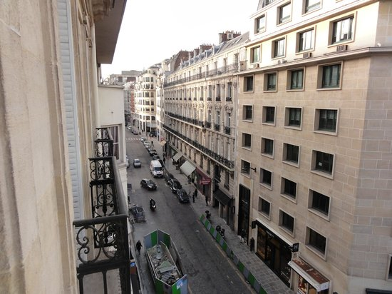 Hotel Le 123 Elysées - Astotel : View from little Balcony...