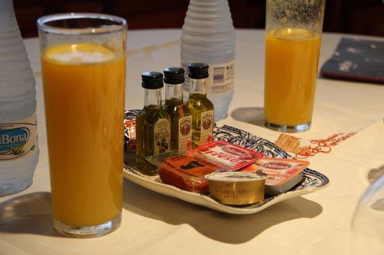 Hotel La Llave de la Jurderia: Breakfast
