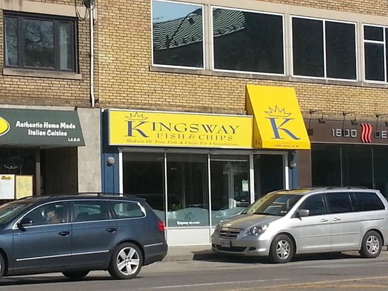Kingsway Fish and Chips:                   Exterior