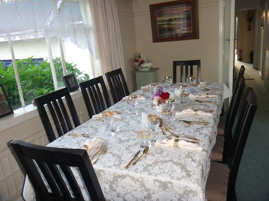 Hielan House Countrystay B&B:                   table setting