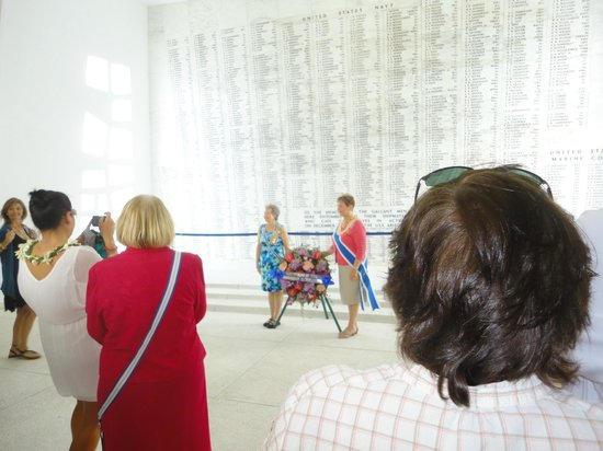 Discover Hawaii Tours: Wall of perished service men