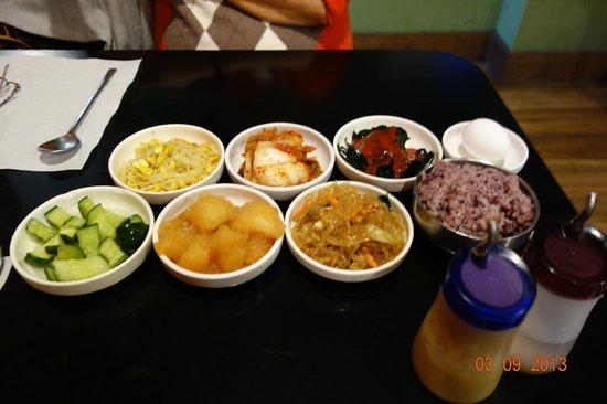 So Gong Dong Restaurant Menu