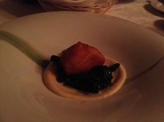 Hart House Restaurant:                   sable fishの日本の味付け(醤油にみりん)