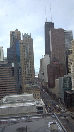 The Gwen, a Luxury Collection Hotel, Chicago:                   View from the 15th floor