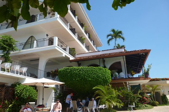 La Mariposa Hotel:                   The hotel from the pool