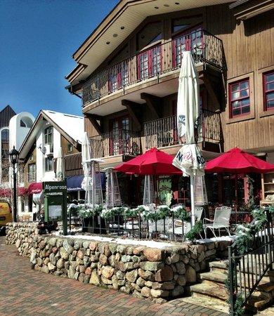 Alpenrose Restaurant:                   Alpenrose