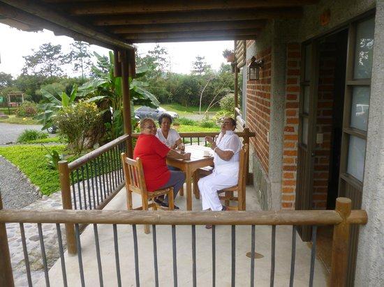 Matisses Hotel Campestre:                   balcon de la habitacion                 