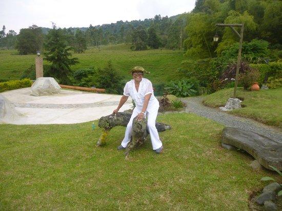 Matisses Hotel Campestre:                   jardines