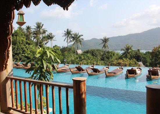 Santhiya Koh Phangan Resort & Spa: Our Pool