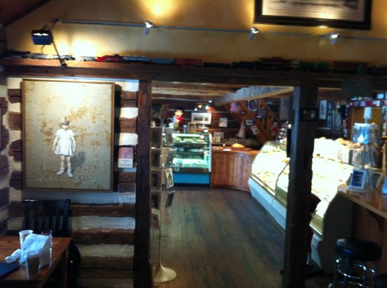 Door County Bakery:                   Just a short walk to the espresso bar and bakery