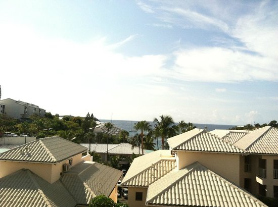 Elysian Beach Resort:                   View from room