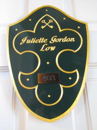Hamilton-Turner Inn:                   Juliette Gordon Low Room