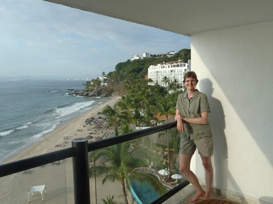 Hyatt Ziva Puerto Vallarta:                   view from room 1657