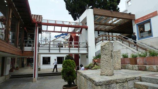 Hacienda Santa Barbara: Verschachtelte Innenhöfe