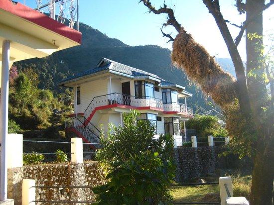 Shivalay Hotel:                                     we had the top floor