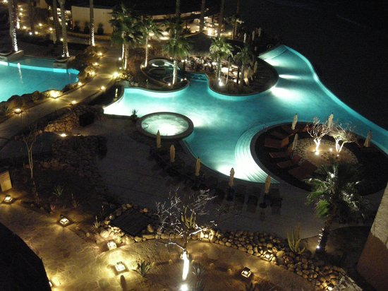Grand Solmar Land's End Resort & Spa:                   Pool at night