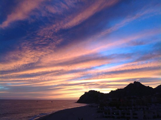 Grand Solmar Land's End Resort & Spa:                   Sunset from room