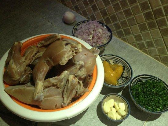 Riad Camilia:                   Cooking class