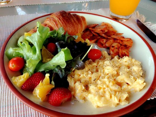 Asajara Resort:                   Healthy Breakfast