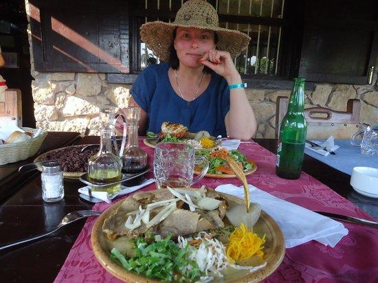 La Campana:                                     Salad- everything was so fresh!
