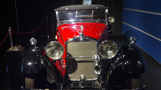 Kemp Auto Museum: 1931 Mercedes-Benz 370S Mannheim