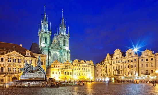 American Restaurants in Prague
